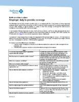 HCR Employer Mandate Shared Responsibility FAQ (Anthem)