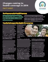 Covered California Fact Sheet