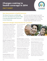 Covered California Getting Covered Fact Sheet