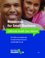 DMHC Health Reform Toolkit Small Businesses