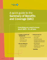 Guide to the Summary of Benefits and Coverage (SBC) Anthem