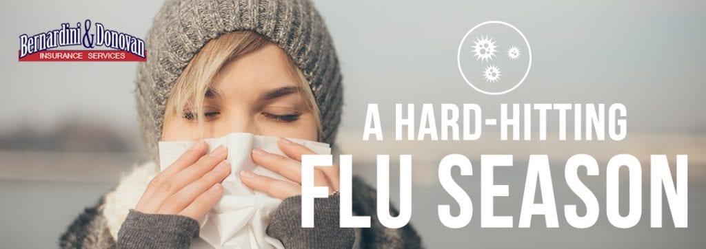 hard hitting flu season