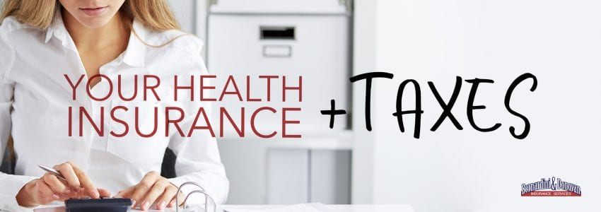 your health insurance and taxes