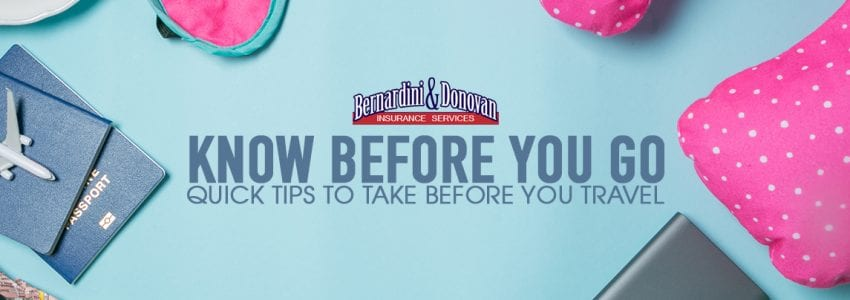 Tips to Take Before You Travel