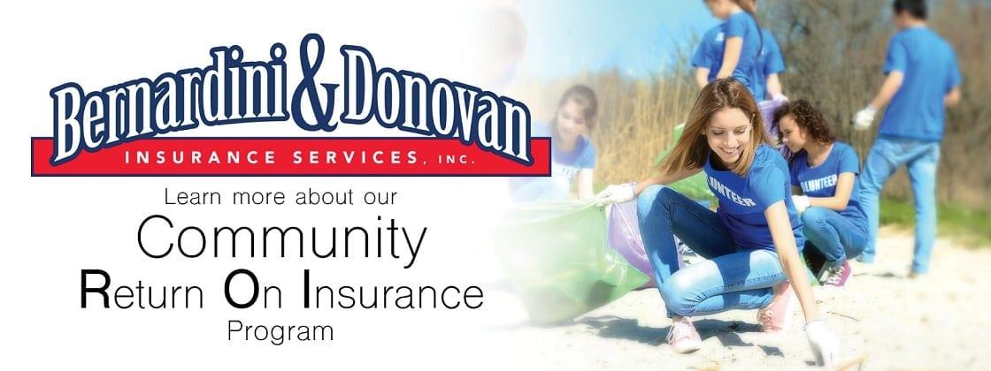 community return on insurance