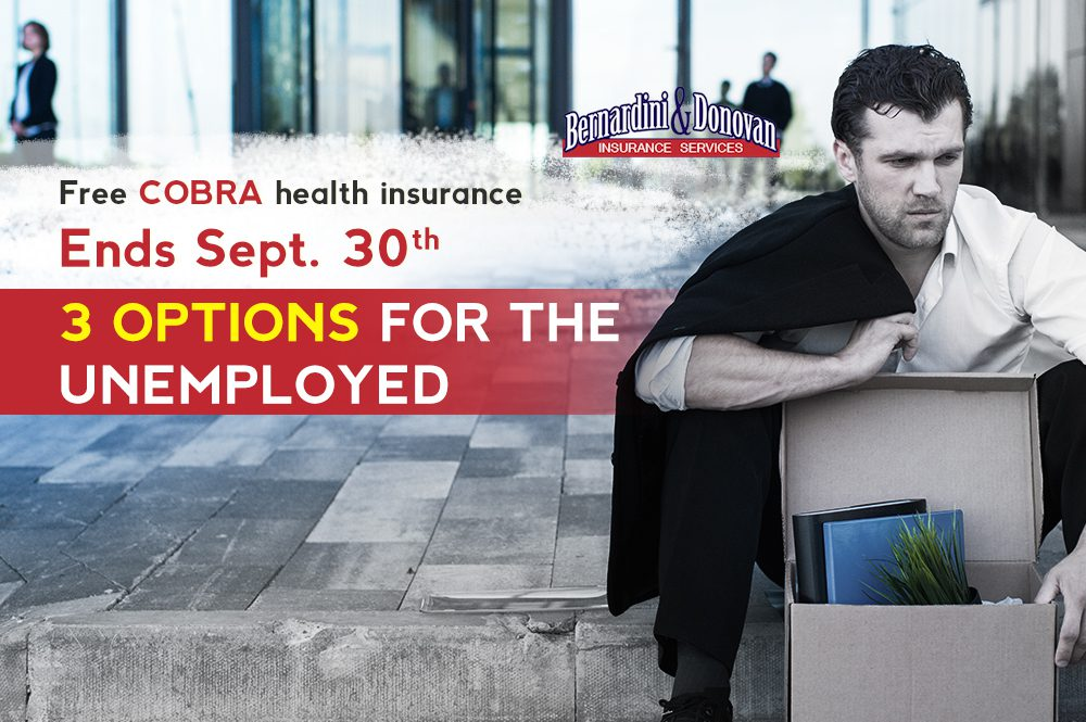 COBRAs premium health insurance ends Sept 30
