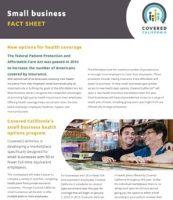 Covered California Small Business Fact Sheet