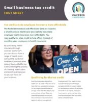 Covered California Small Business Tax Credit