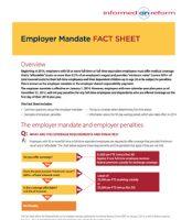 Employer Mandate Fact Sheet